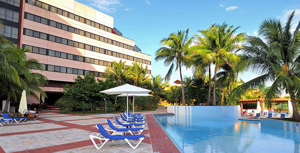Begin with a stay at Memories Miramar, Havana