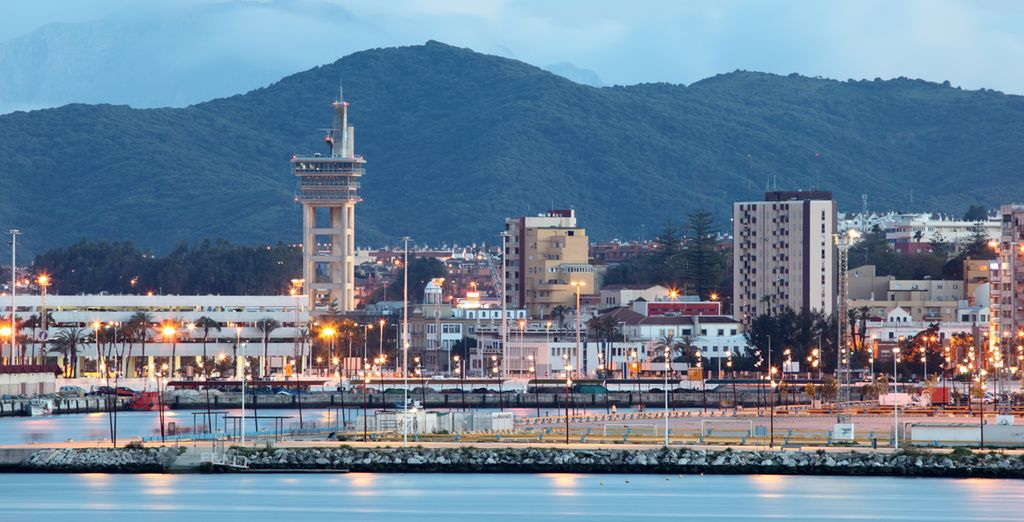 Algeciras is a beautiful port city in the south of Spain