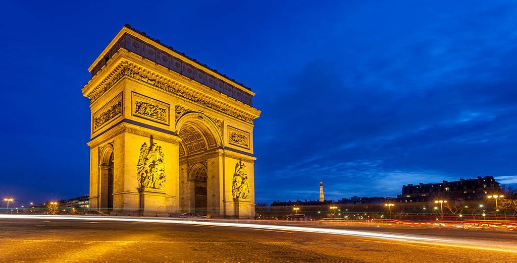 You're in a great location to discover Paris