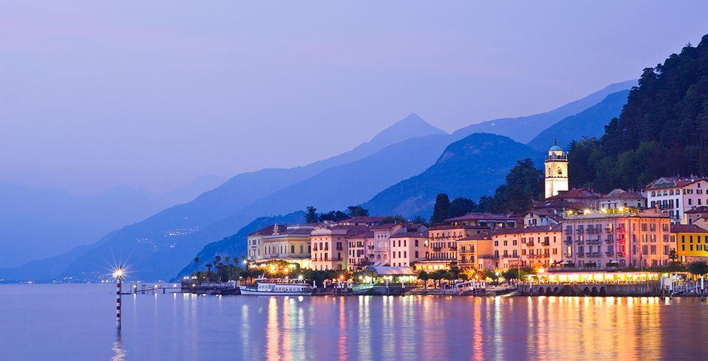 Beautiful lakeside towns like Bellagio