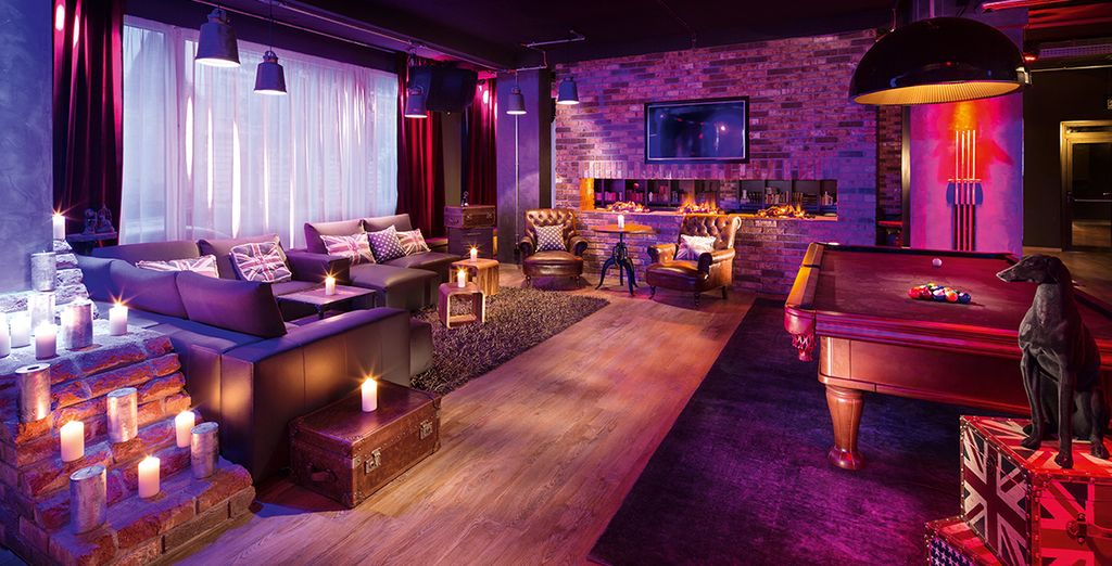 Funky, modern decor