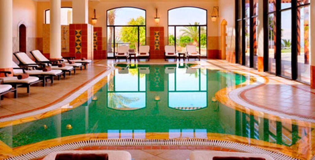 Jordan Valley Marriott Indoor Pool