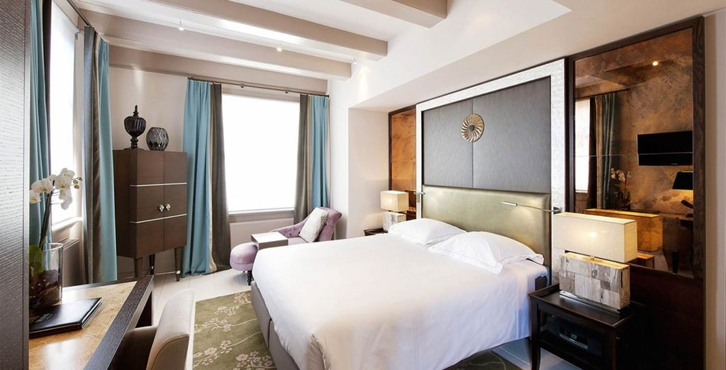 Our members may choose from a Luxury Double Room