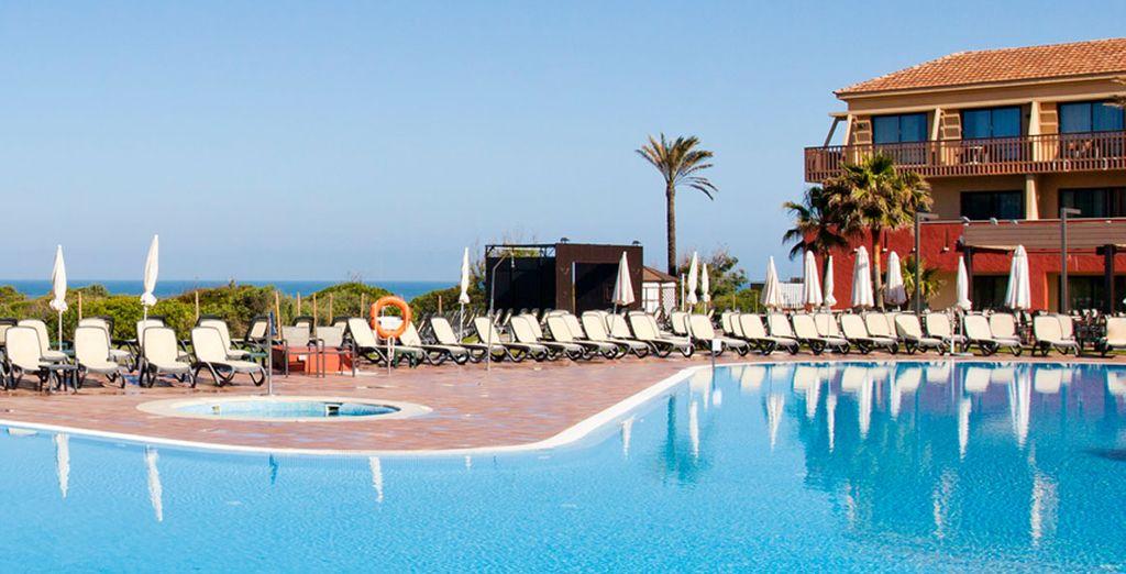 Discover the brilliant pool