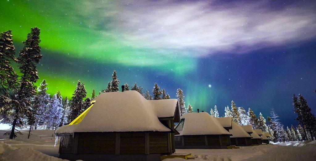 Northern Lights Village 3* - ski accomodation