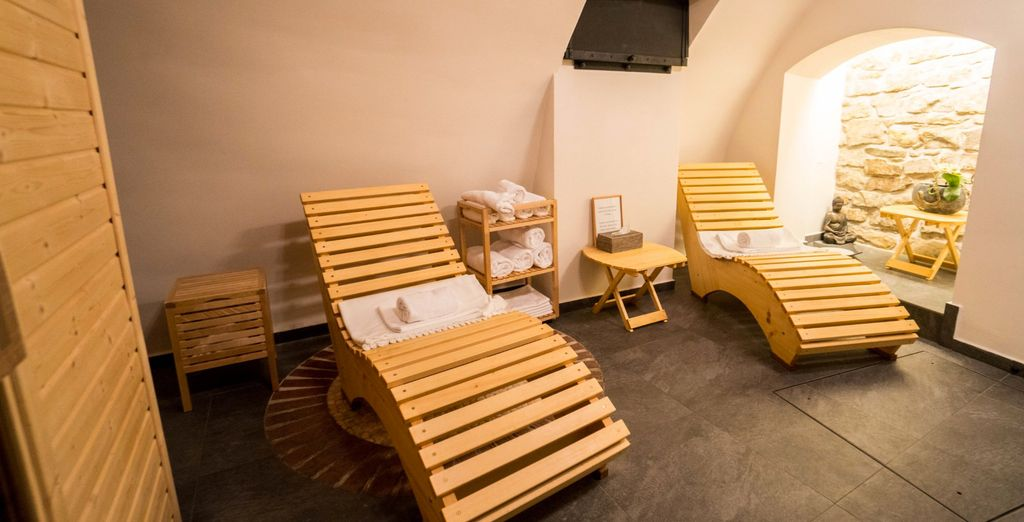 Have some relaxing time at the spa!