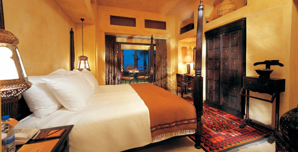 Our members will stay in a Terrace Room