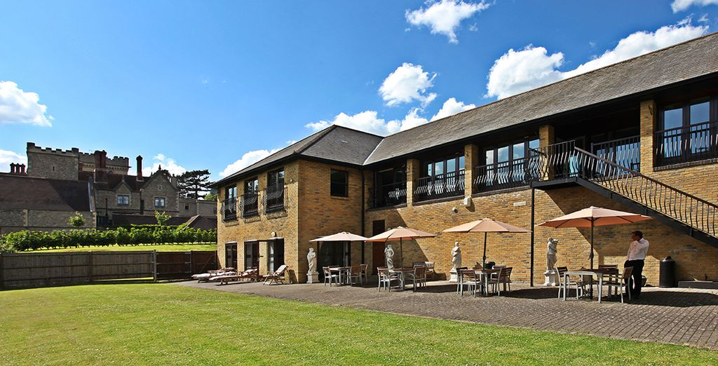 Visit the hotel's fantastic wellness area