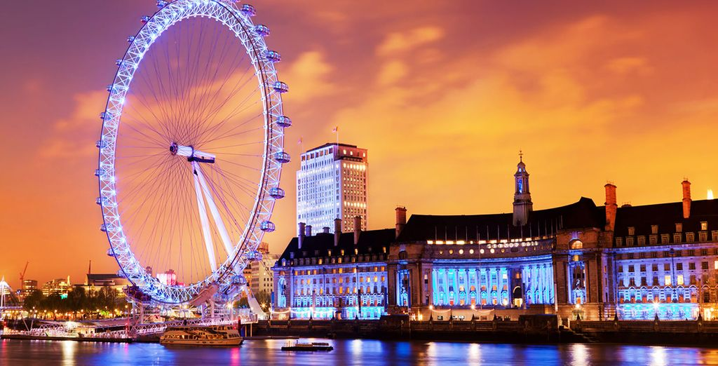 Our offer includes a special London Eye experience