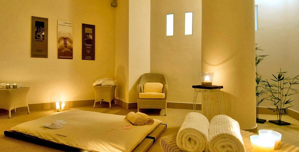 Or escape the heat of the day to indulge in a spa treatment
