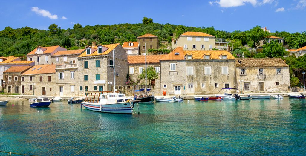 Walk around the small fishermen's vilage of Suđurađ on the Island of Šipan
