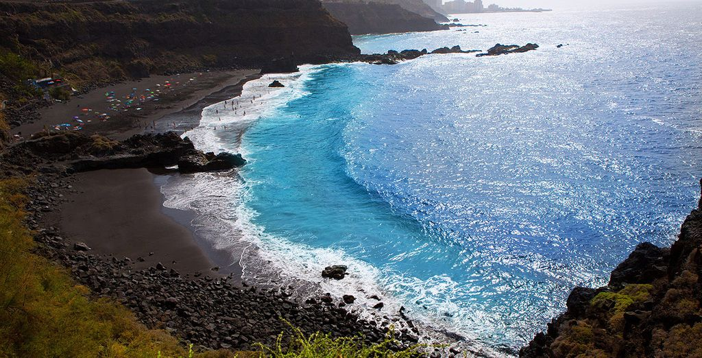 The beautiful beaches of the Canary Islands