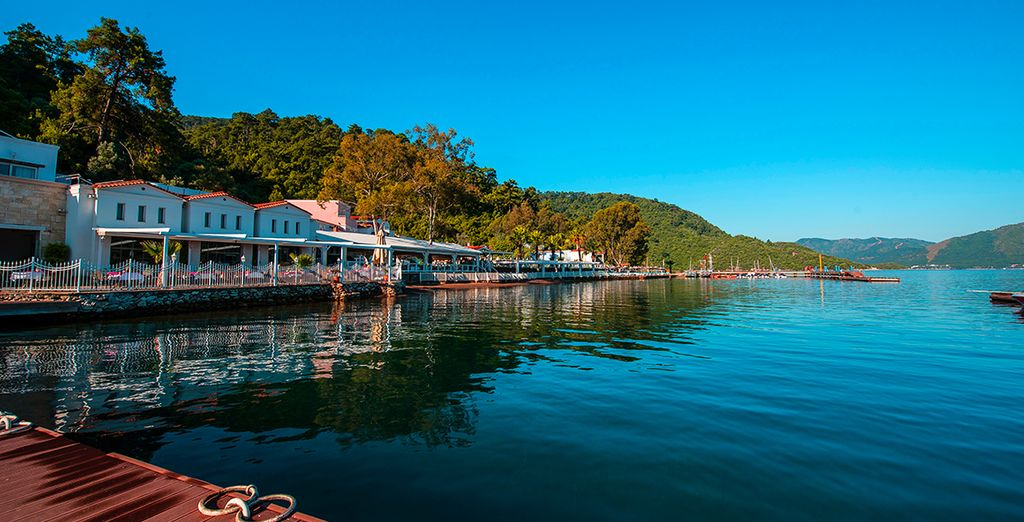 Enjoy the beautiful surroundings, under the Turkish sun...