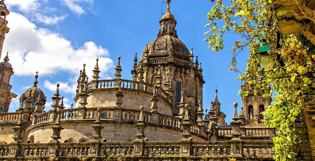 All in the lovely Santiago de Compostela