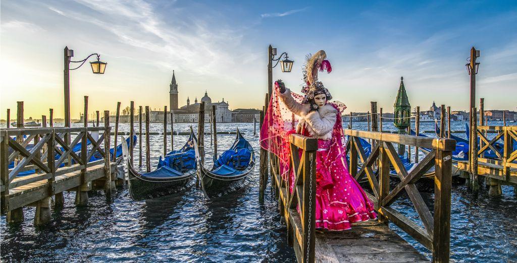 Experience Venice Carnival in February!