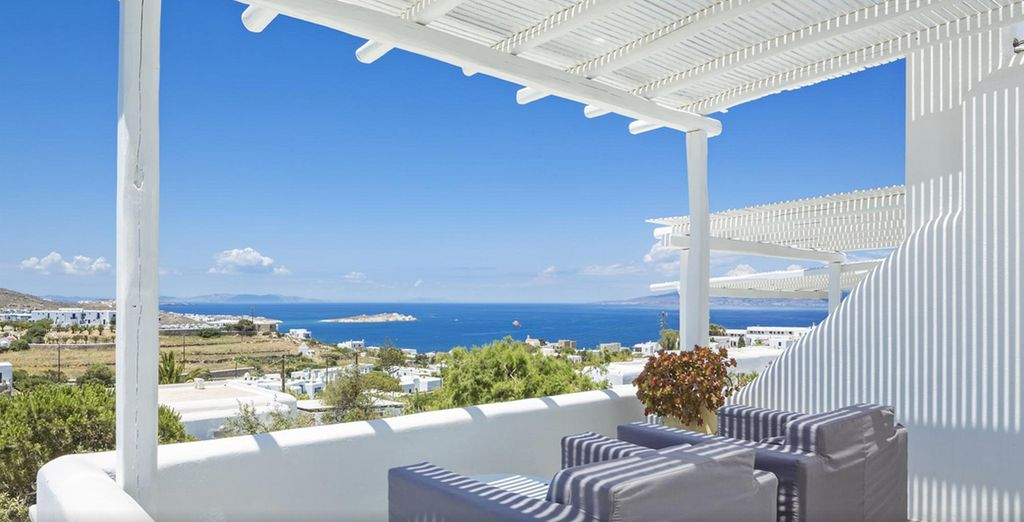 Which has magnificent Sea Views