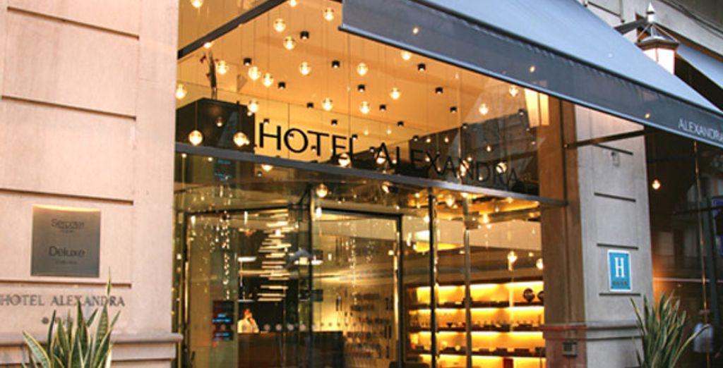 - Hotel Alexandra**** - Barcelona - Spain Barcelona