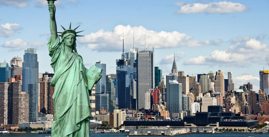Visit United Stated Symbol : the statut of liberty in New York