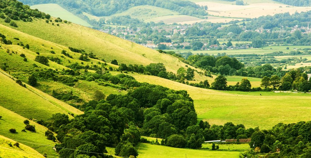 And of course there's the beautiful South Downs to explore