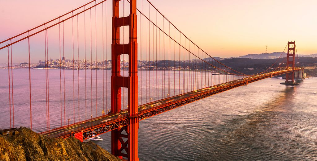 Experience the beauty of San Francisco - Ruby Princess Cruise and LA Hotel Downtown Los Angeles, California