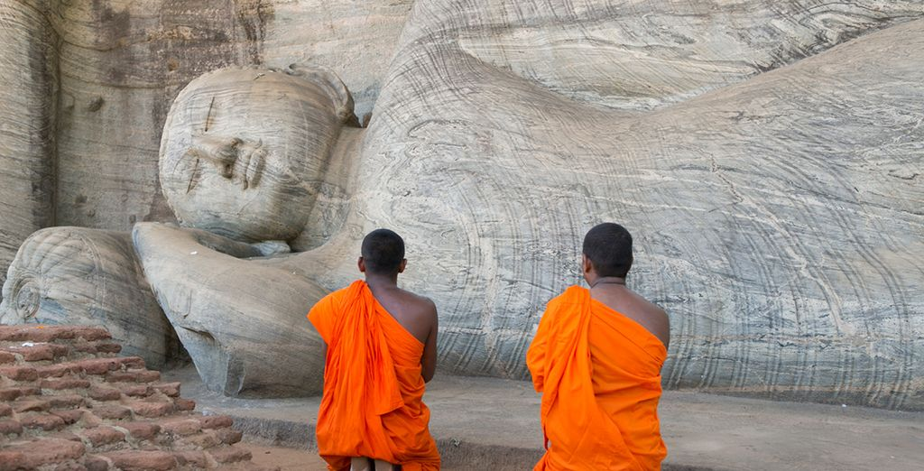 Then you're off to beautiful Sri Lanka - rich in culture