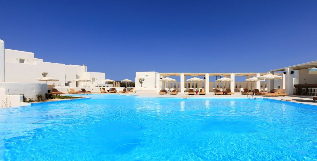 With excellent facilities devoted to relaxation (pictured: Archipelagos Hotel)