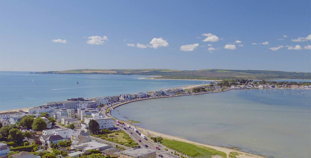 Where you will be treated to spectacular views out over the harbour