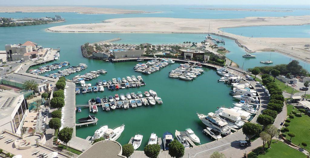 And private marina