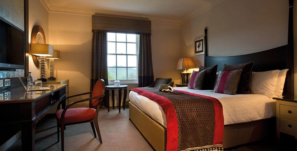 Your sumptuous Classic Room is welcoming and charming