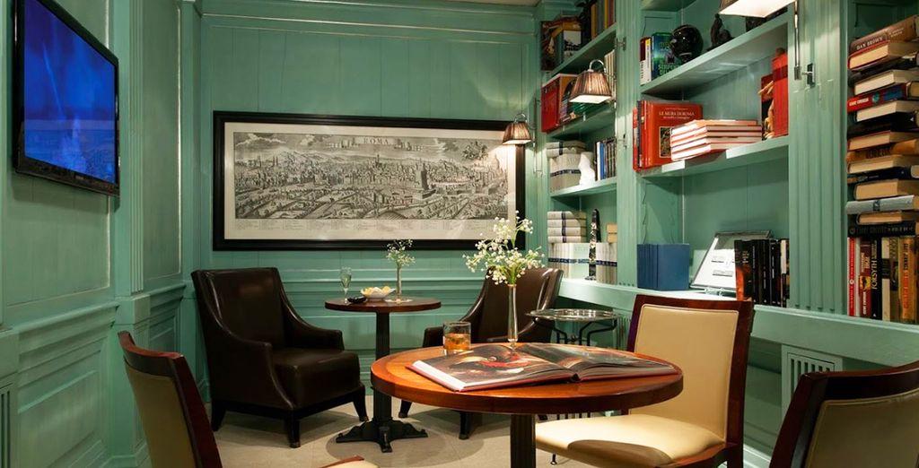 It features modern, elegant interiors