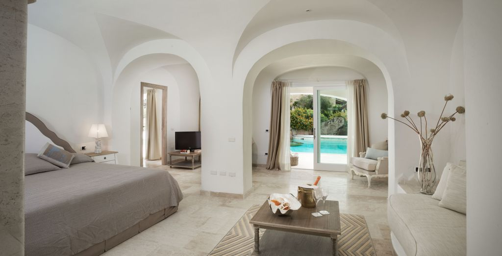 Or a deluxe with direct access to the pool