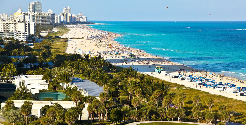 Your adventure begins in glamorous Miami