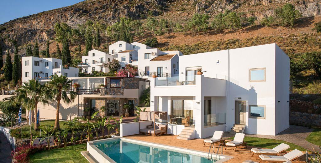 Enjoy a magnificent stay at the Creta Blue  - Creta Blue Luxury Collection 4* Koutouloufari