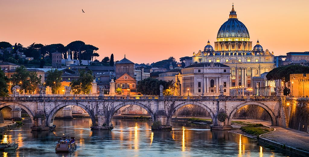 And romantic Rome