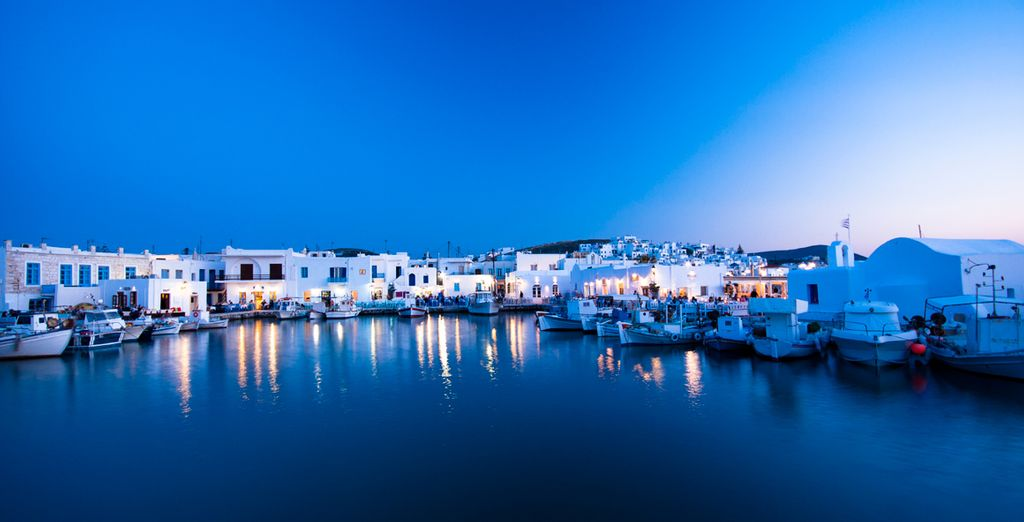 In the unrivalled beauty of Paros