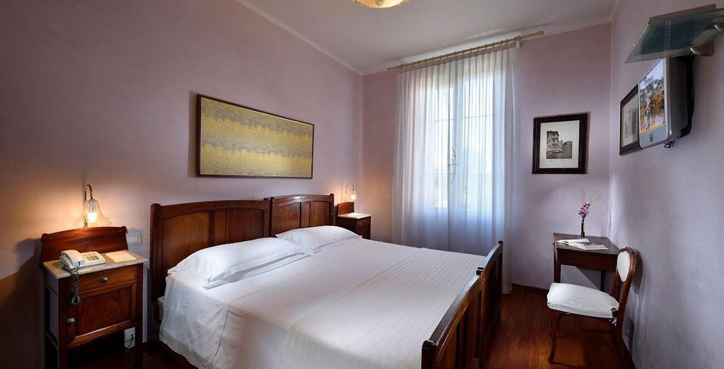 Choose between a comfortable Classic Room