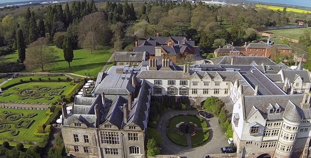 This historic hotel started life as a 12th century abbey