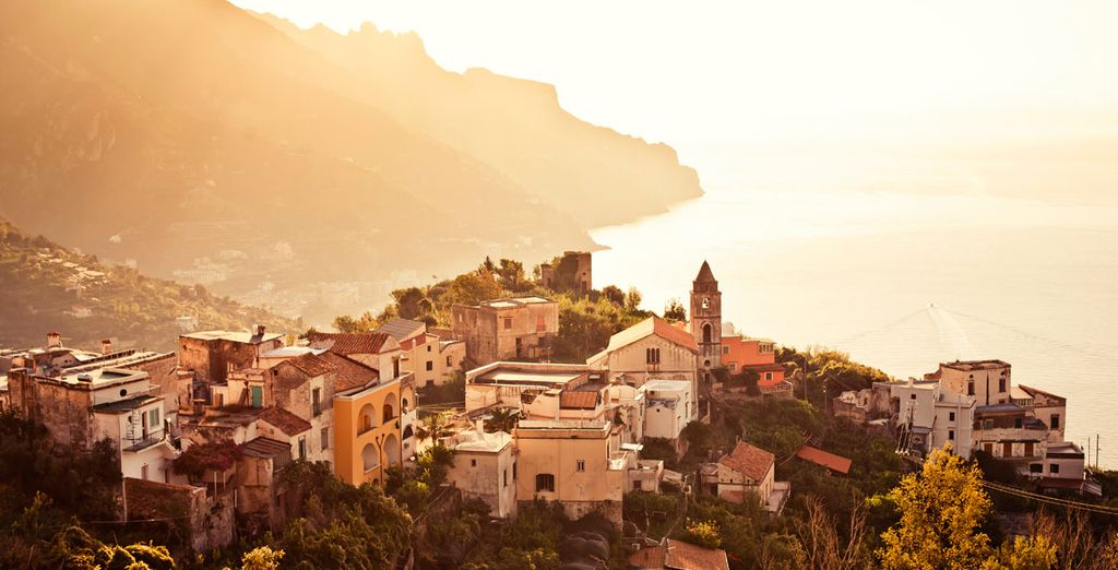 And the beauty of Amalfi