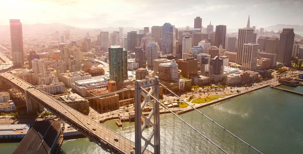 Visiting iconic cities such as San Francisco...