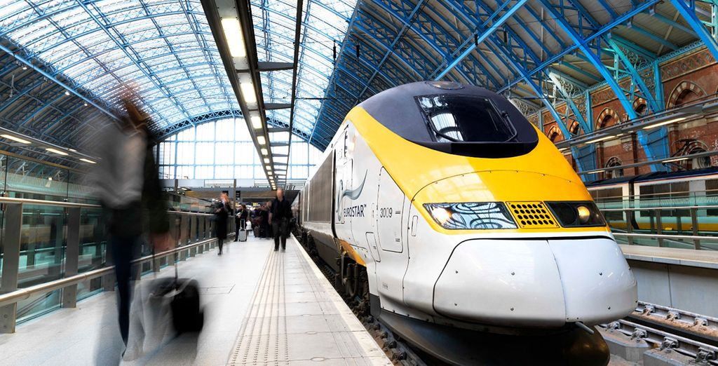 Our offer includes Eurostar travel