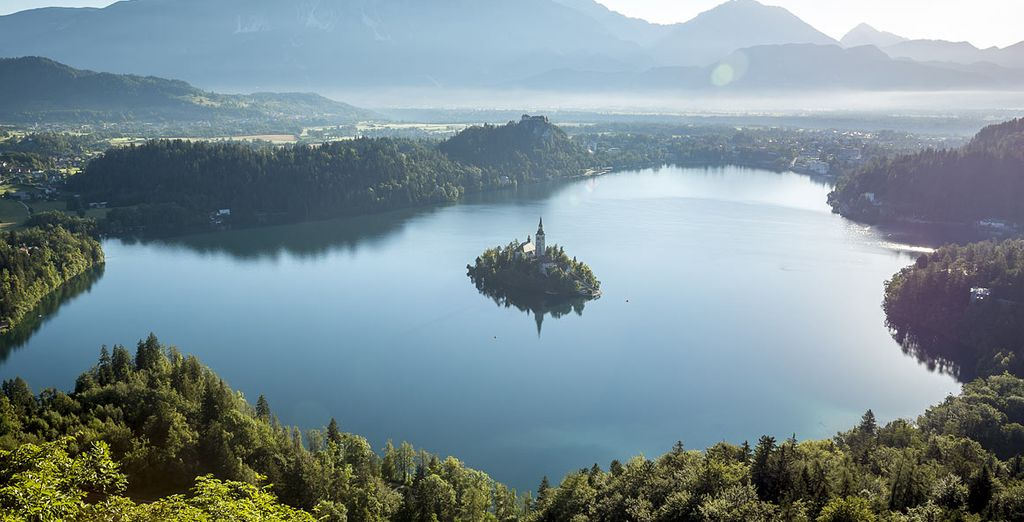 Then move onto the breathtaking Lake Bled