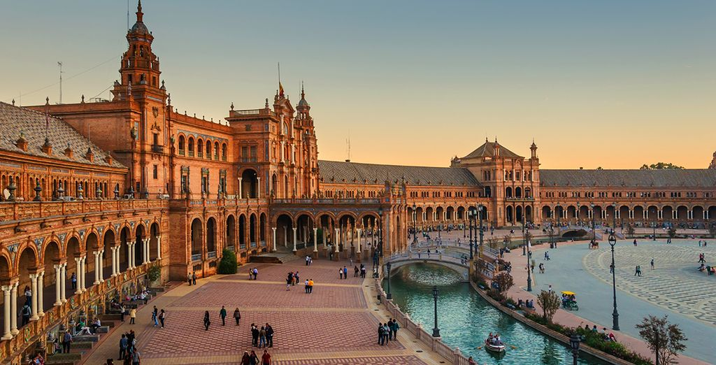 Seville offers visitors a beautiful city to explore...