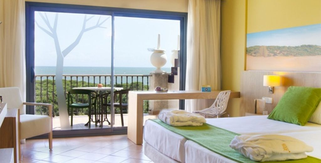 Or upgrade to a Sea View for extra luxury