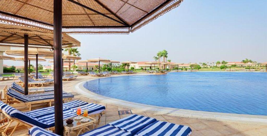At the Maritim Jolie Ville Royal Peninsula - Maritim Jolie Ville Royal Peninsula 5* Sharm El Sheikh