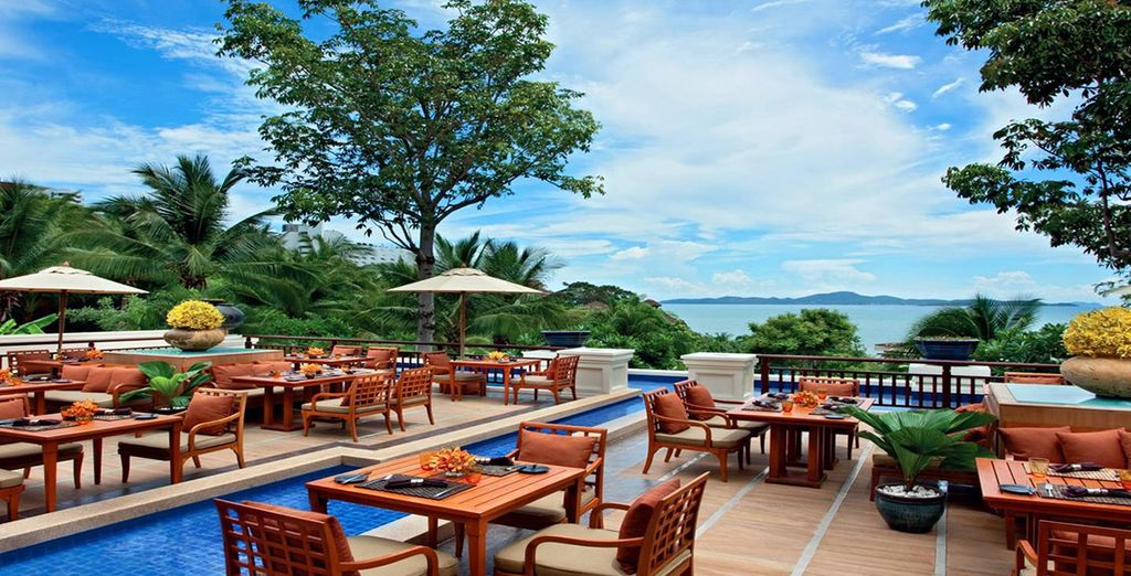 Enjoy  two luxurious Sheraton hotels in two of Thailand's hotspots
