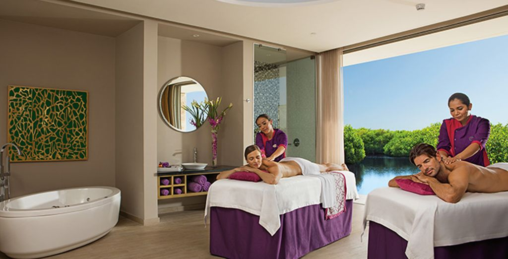 After topping up your tan, why not treat yourself to a pampering massage?