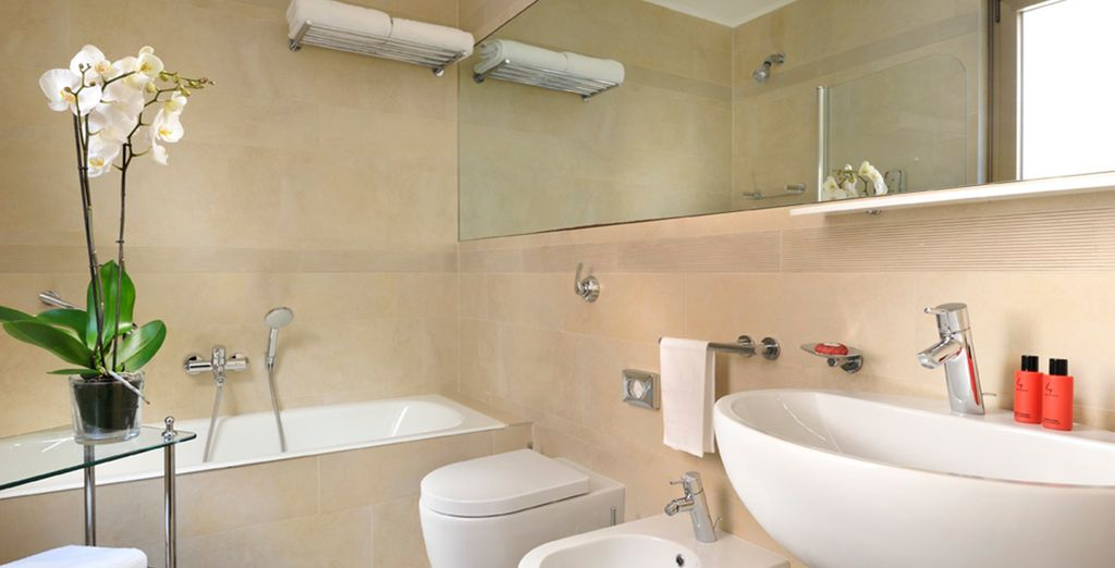 With excellent facilities