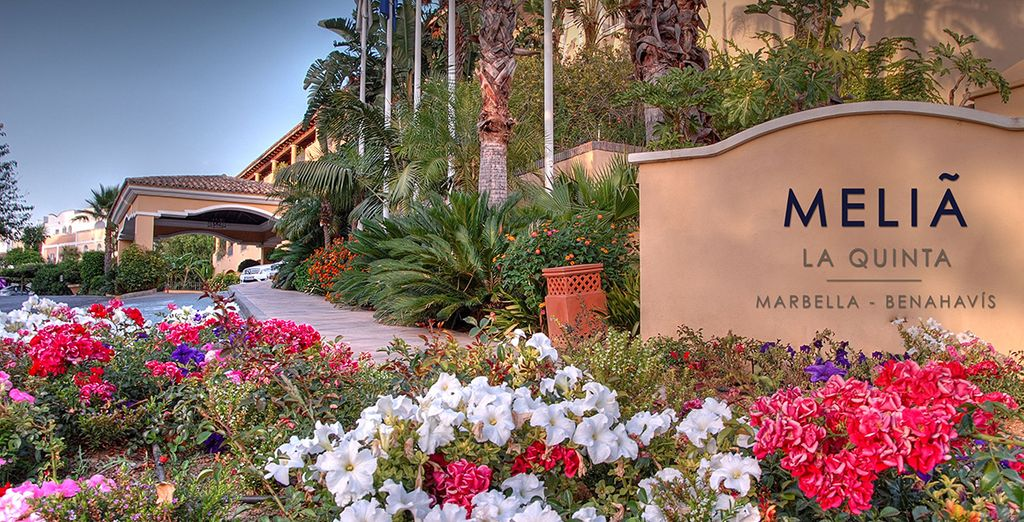 At the 5* Melia La Quinta Golf & Spa Resort - Melia La Quinta Golf & Spa Resort 5* Marbella
