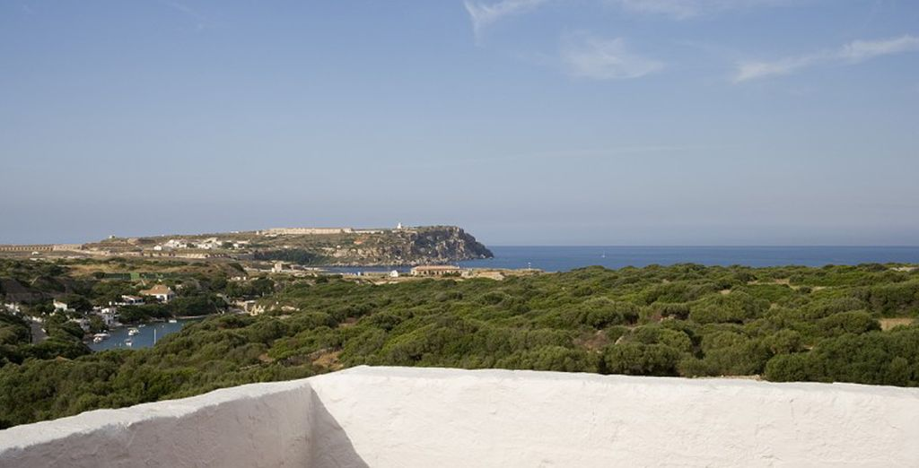 Overlooking the awe-inspiring views of the coast