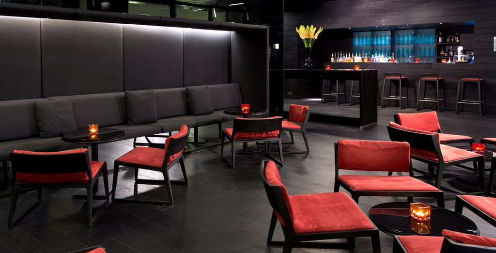 Or enjoy a cocktail at the Lounge Bar